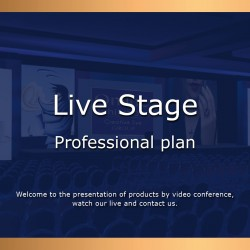 Live Stage Professional plan